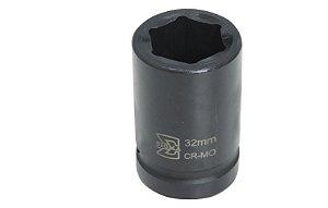 "Soquete CR-MO 1"" X 32mm Longo - Sigma Tools"