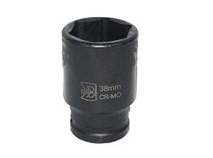"Soquete CR-MO 1"" X 38mm Longo - Sigma Tools"