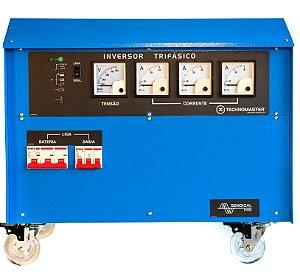Iinversor Carregador Off Grid Technomaster Tm21s-t 48v 10kva Trifasico 220/380v