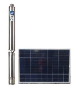 Bomba Submersa Ebara Ecaros Solar 4bps2-18 1cv + Quadro Inversor + 6 Placas