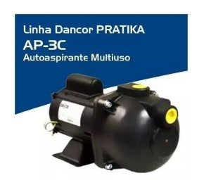 Bomba De Água Autoaspirante 1/2cv Ap-3c Mono 127V Dancor