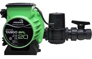 Bomba Pressurizadora de Água Tango SFL 20 1/2cv 220v Silenciosa Rowa