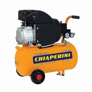 Motocompressor De Ar 21 Litros 2hp - Chiaperini Mc 7.6/21 220v