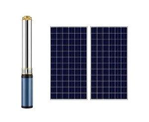 Bomba Solar Submersa Inox 4 4sd60v 500w 2-7 Lepono +2 Placas