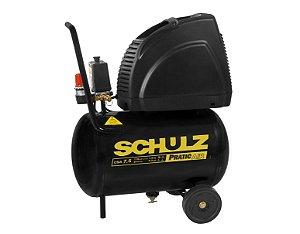 Compressor de Ar Schulz Pratic Ar CSA 7,5/20l 1,5cv 2 polos 220v