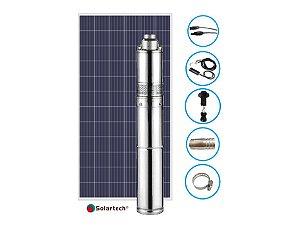 Kit Solar Completo Solartech Spmd3250hs Bomba de Agua C/1 Painel