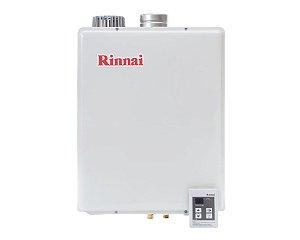 Aquecedor Rinnai Digital a Gás Glp Reu-E48 Feab 47,5l Ch. 100mm