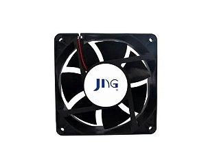 Ventoinha Ventilador Coller Fan Jng 80x80x25 24v