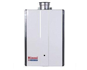 Aquecedor Rinnai a Gás Gn Reu-Km3237 Ffud-E Condensing 42,5l Alta Potencia