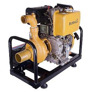 Motobomba Buffalo Diesel Bfde 3 X 2 Centrifuga 10cv Partida Eletrica Vazao Max. 30.000 l/h