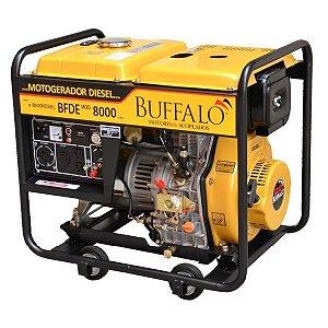 Gerador Buffalo Diesel Bfde 8000 13cv 6,5kw Mono 110/220v P. Eletrica 71336
