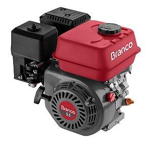 Motor Branco Gasolina B4t5.5h 4t 5,5cv com Alerta de óleo