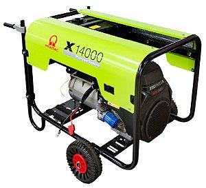 Gerador Pramac Gasolina X14000 16,2kva Avr Trifasico Biv Partida Eletrica