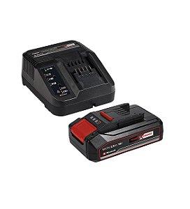 Bateria Einhell 2.5 Ah + Carregador Bivolt Kit Iniciante Pxc 18v Pxc Start