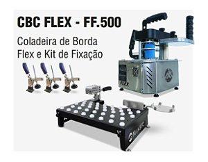 Coladeira De Borda Manual Maksiwa Cbc Flex + Kit De FixacaÇÃO Ff.500