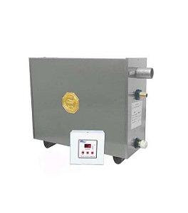 Sauna A Vapor Impercap Master Profissional 24kw Digital Inox Trif 380v