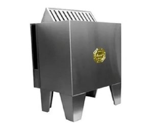 Sauna Seca Eletrica Impercap 9kw Finlandia Star Inox Trifasica 380v Digital