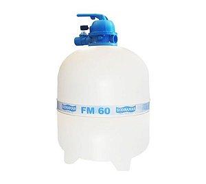 Filtro Para Piscinas Fm-60 P/ Até 85 Mil Litros Sodramar