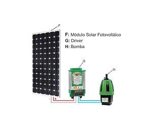 Sistema De Bombeamento Anauger Solar P100 5g Completo