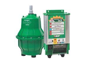 Bomba D Agua Anauger Solar R100 Para Reservatorio + Driver 36vdc