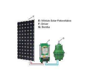 Sistema De Bombeamento Anauger Solar R100 5g Completo