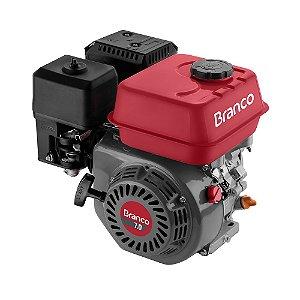 Motor a Gasolina B4T74 Tempos 7HP Com Sensor de Oleo Branco