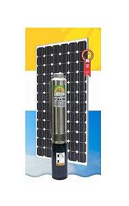 "Sistema Bombeamento Solar Anauger Bomba Submersa Giro 4"" Gs0310 1000w 120v + 4 Painel"