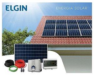 Kit Gerador Energia Solar Fotovoltaico Com 126 Paineis 340w 41,8kwp Elgin