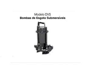 Bomba De Agua Submersa Ebara 2hp 50DVS61.5 Trifasico 380/440V
