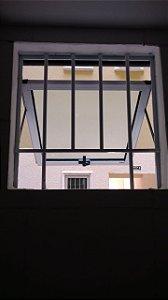 Janela Maxim-Ar de 01 folha com grade
