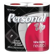 Papel Higiênico Personal VIP - Folha Dupla - Neutro