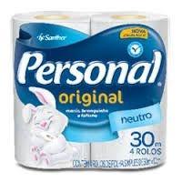 Papel Higiênico Personal - Folha Simples - Neutro