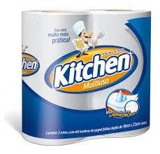Papel Toalha  Kitchen - Cozinha (Com 2 Rolos)
