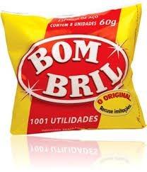 Lã de Aço Bombril (Com 8 unidades)