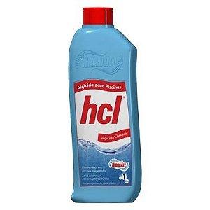 Algicida Choque hcl - Hidroall (1 Litro)
