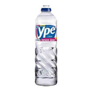 Ypê - Detergente - 500 ml (Clear, Côco e Neutro)
