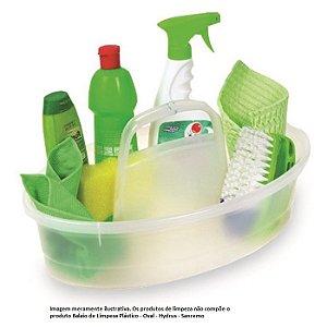 Balaio de Limpeza Plástico - Oval - Hydrus - Sanremo