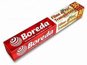 Filme PVC Transparente - Boreda (Tamanho: 28cm x 30mts e 28cm x 100mts