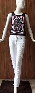 Calça branca Auhoria
