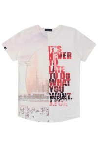 CAMISETA IT'S NEVER  JOHNNY FOX