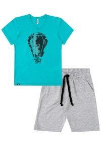 CONJUNTO COM BERMUDA MOLETOM JOHNNY FOX