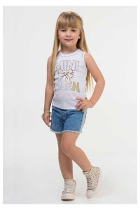 BLUSA REGATA MINI QUEEN INFANTI