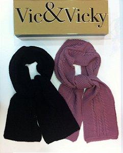 CACHECOL EM TRICOT VIC&VICKY