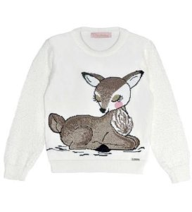 Blusa tricot Pituchinhus