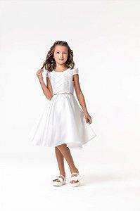 Vestido branco Petit Cherie