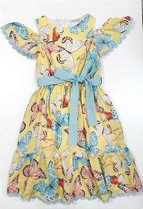 Vestido Borboletas Petit Cherie