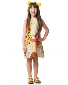 Vestido Curto Girafa Camu Camu
