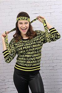 Blusa em tricô Perfumaria