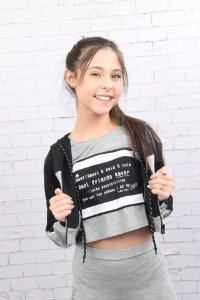 Camiseta cropped Dimy Candy