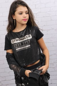 Blusa cropped Dimy Candy